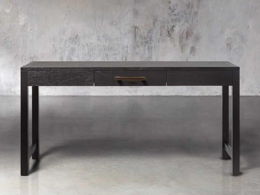 "Tremont Modular 60"" Desk in Dry Branch Black"