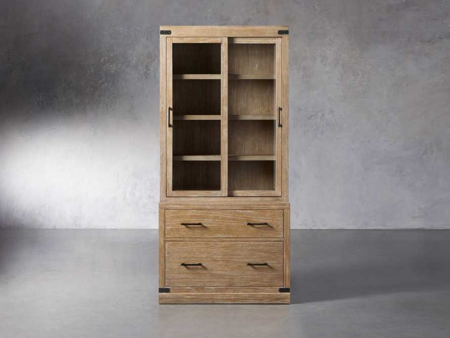 """Tremont Modular 40"""" Cabinet with Cabinet Base in Dry Branch Natural, slide 1 of 5"""