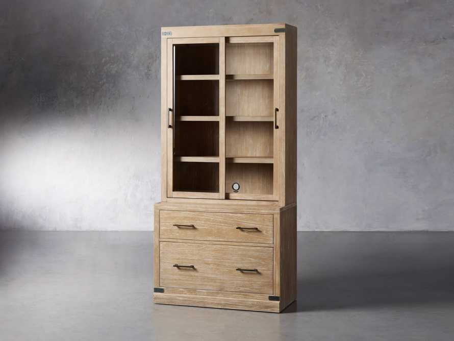"""Tremont Modular 40"""" Cabinet with Cabinet Base in Dry Branch Natural, slide 2 of 5"""