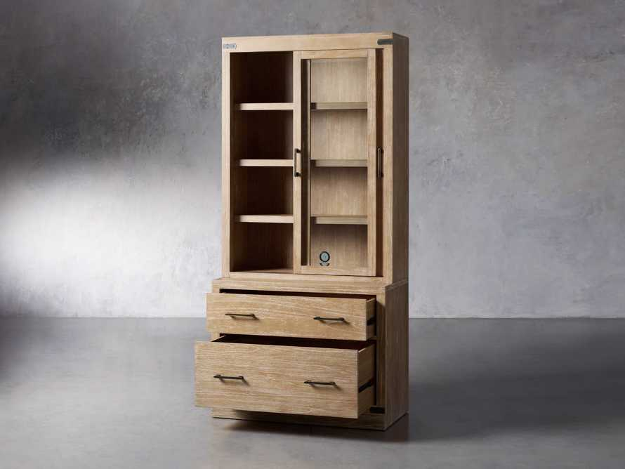 """Tremont Modular 40"""" Cabinet with Cabinet Base in Dry Branch Natural, slide 3 of 5"""