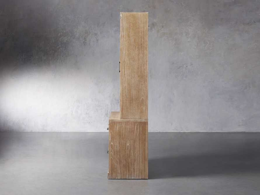 """Tremont Modular 40"""" Cabinet with Cabinet Base in Dry Branch Natural, slide 4 of 5"""