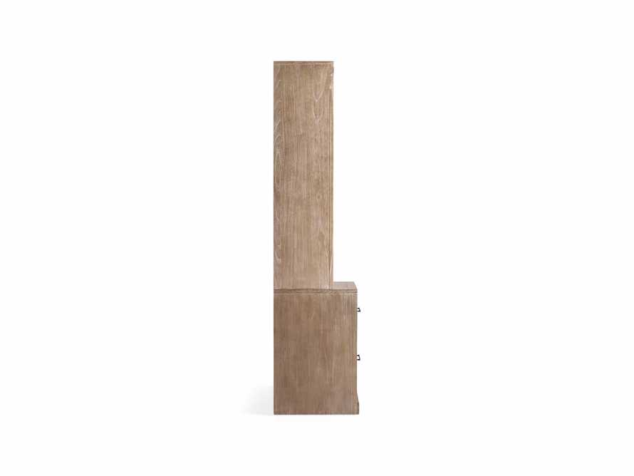 """Tremont Modular 20"""" Bookcase with Brass Handles in DRY BRANCH NATURAL, slide 10 of 10"""