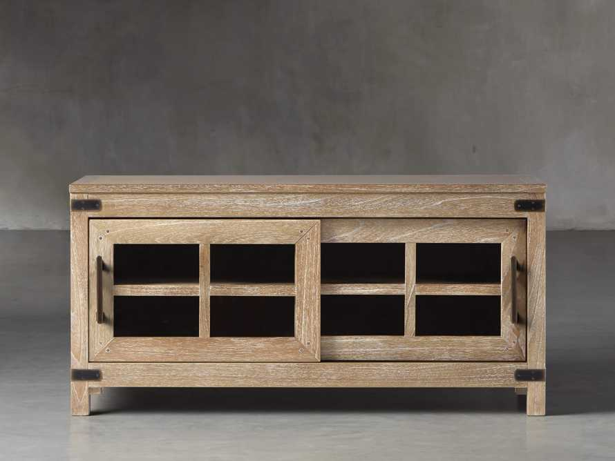 Tremont Small Media Console In Dry Branch Natural