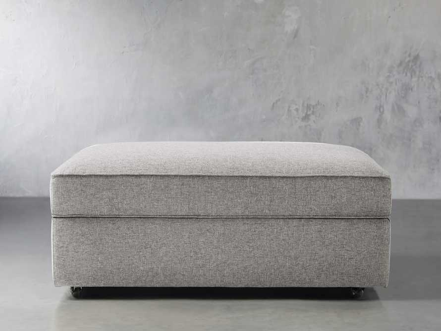"Filmore Upholstered 44"" Storage Ottoman, slide 2 of 7"