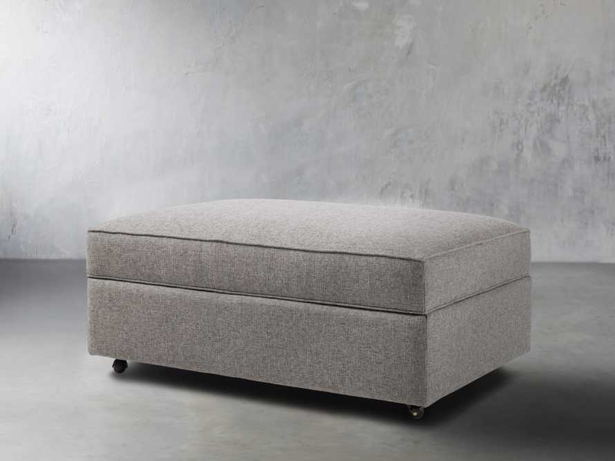 "Filmore Upholstered 44"" Storage Ottoman, slide 3 of 7"