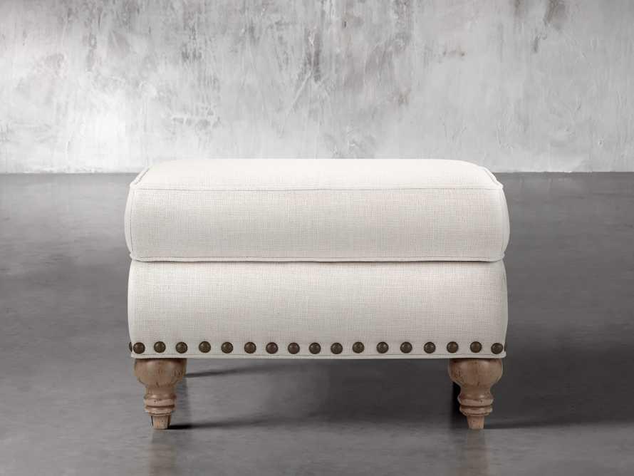 "Outerbanks Upholstered 28"" Ottoman, slide 1 of 4"