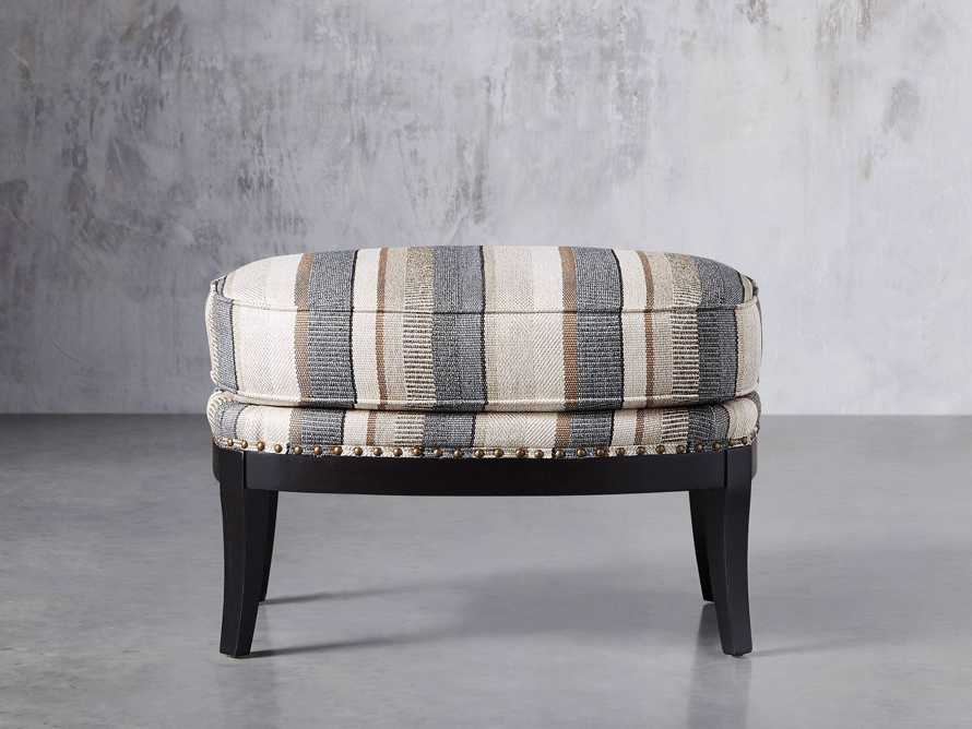 "Portsmouth Upholstered 29"" Ottoman in Amarillo Graphite, slide 1 of 7"