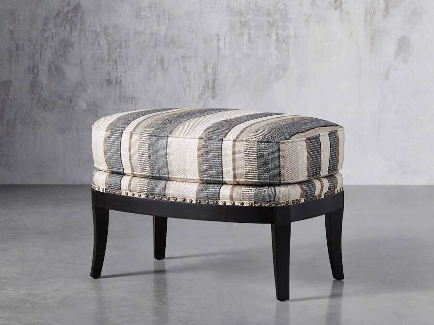 "Portsmouth Upholstered 29"" Ottoman in Amarillo Graphite, slide 2 of 7"