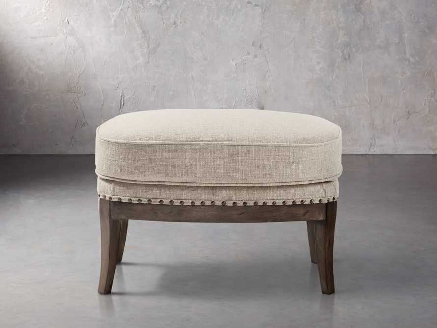 "Portsmouth Upholstered 29"" Ottoman in Natural, slide 1 of 4"
