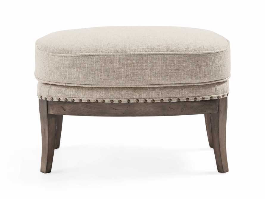 "Portsmouth Upholstered 29"" Ottoman in Natural, slide 4 of 4"