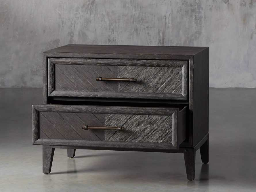 Aventine Two Drawer Nightstand, slide 4 of 10