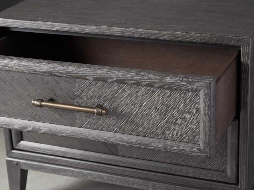 Aventine Two Drawer Nightstand, slide 7 of 10