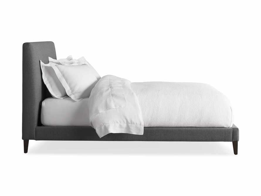 Beck King Bed in Moto Flannel and Shadow, slide 7 of 7