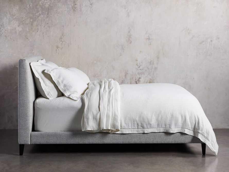 Beck King Bed in Windsor Cement, slide 2 of 6