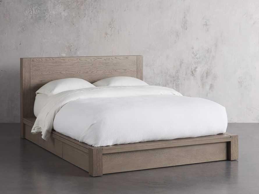 Bodhi King Storage Bed in Salvaged Grey, slide 2 of 8