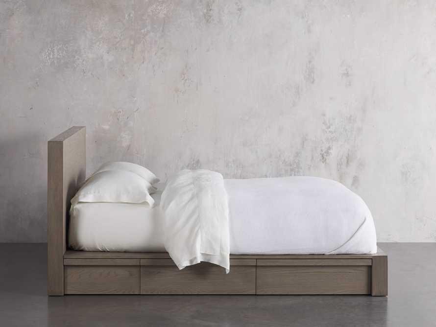 Bodhi King Storage Bed in Salvaged Grey, slide 3 of 8