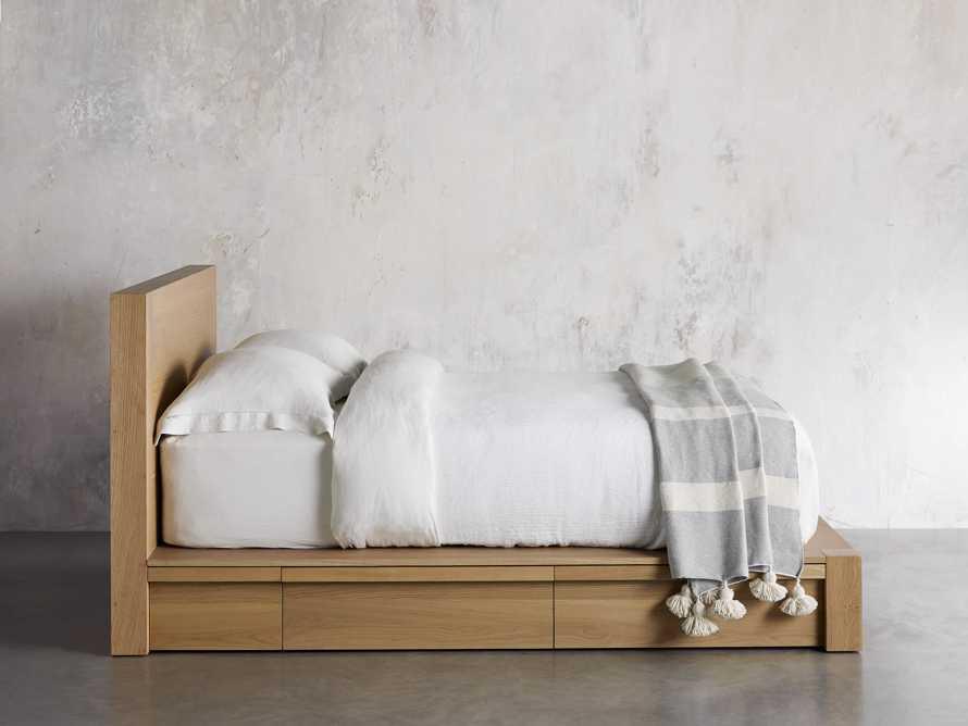 "Bodhi 40"" Queen Storage Bed in Natural"