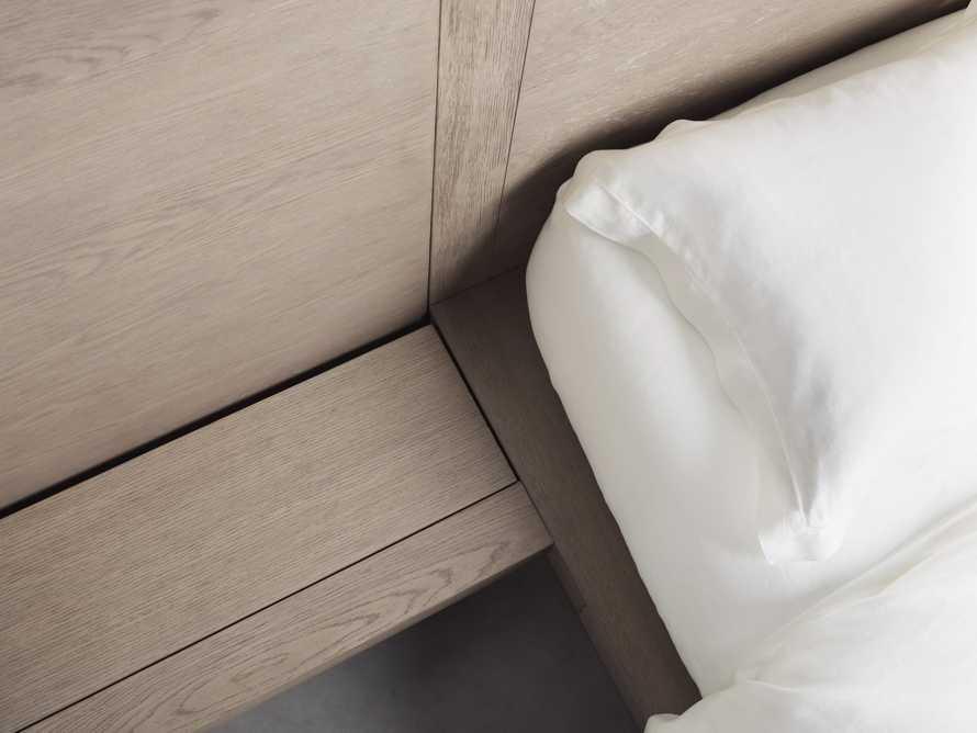 Bodhi Queen Extended Headboard Storage Bed in Salvaged Grey, slide 4 of 7