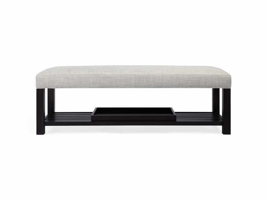 "Chambers Upholstered 60"" Non-Tufted Bench, slide 7 of 9"