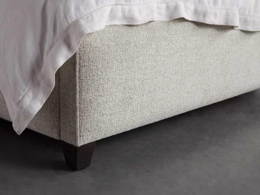"""Devereaux 63"""" Upholstered Tufted King Bed"""
