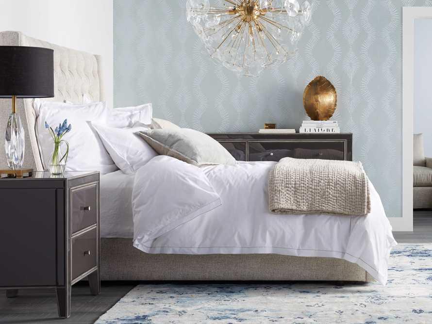 """Devereaux 63"""" Upholstered Tufted Queen Storage Bed, slide 1 of 11"""