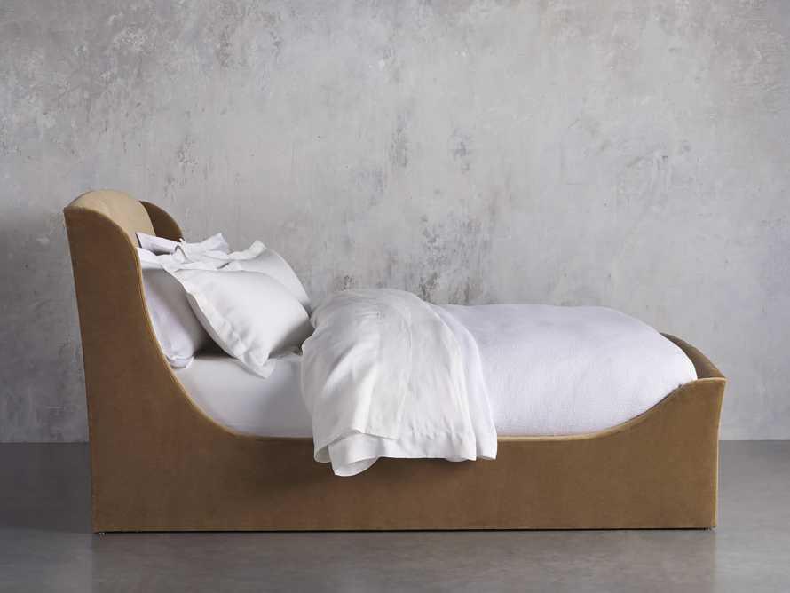 Ella King Bed in Gracy Caramel, slide 3 of 6