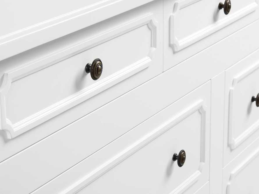 Evelyn 7 Drawer Dresser in Cirrus, slide 6 of 6