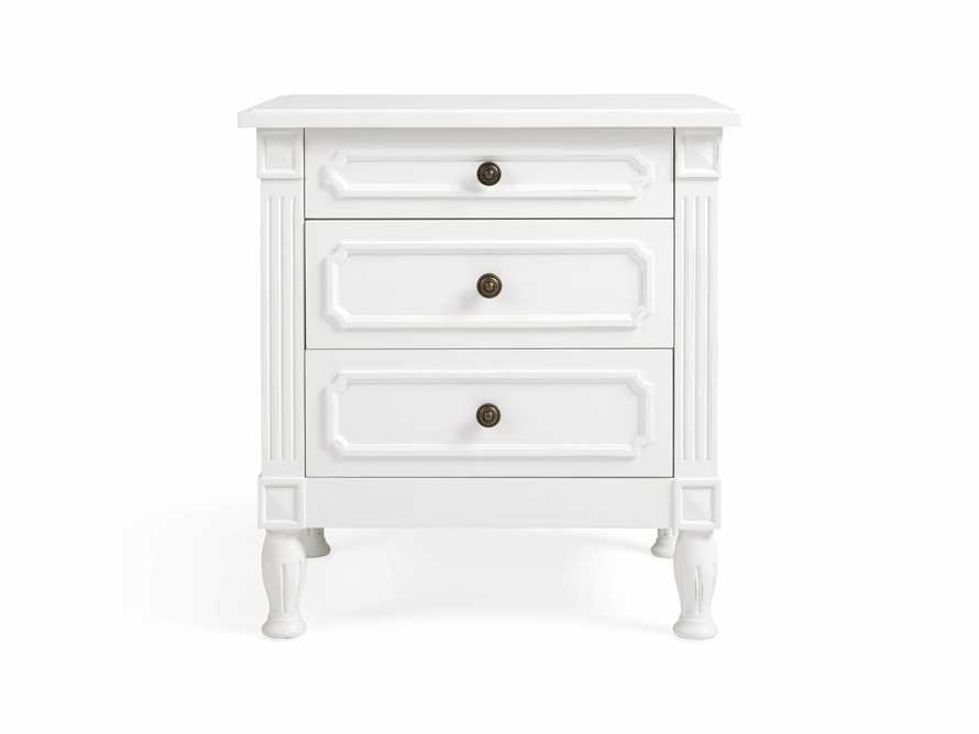 Evelyn Bedside Table in Cirrus