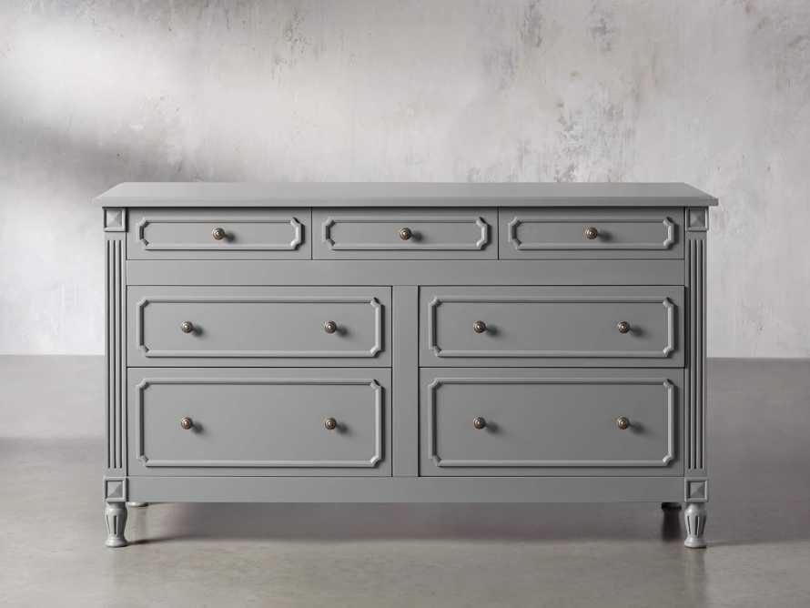 Evelyn 7 Drawer Dresser in Stratus, slide 1 of 9