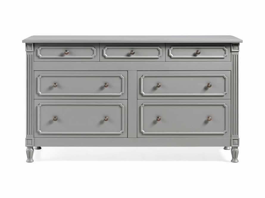 Evelyn 7 Drawer Dresser in Stratus, slide 8 of 9