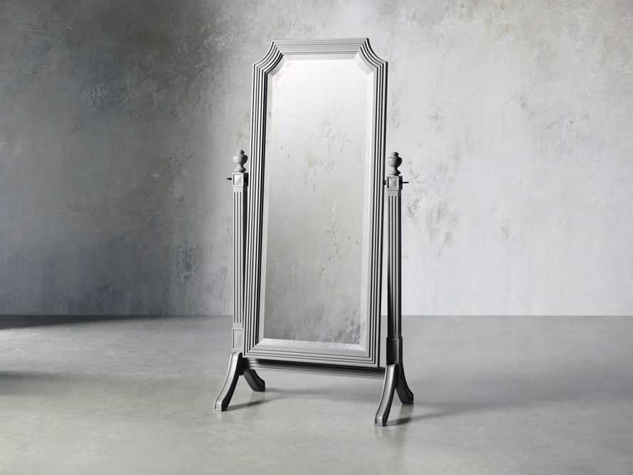Evelyn Cheval Mirror in Stratus, slide 2 of 7