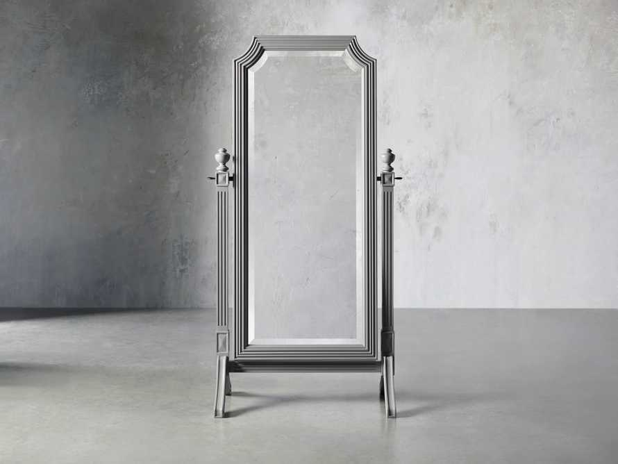 Evelyn Cheval Mirror in Stratus, slide 1 of 7