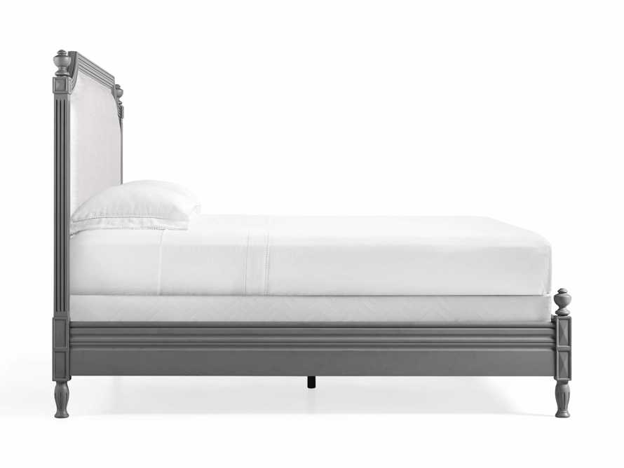 "Evelyn 63"" King Bed in Stratus, slide 7 of 7"