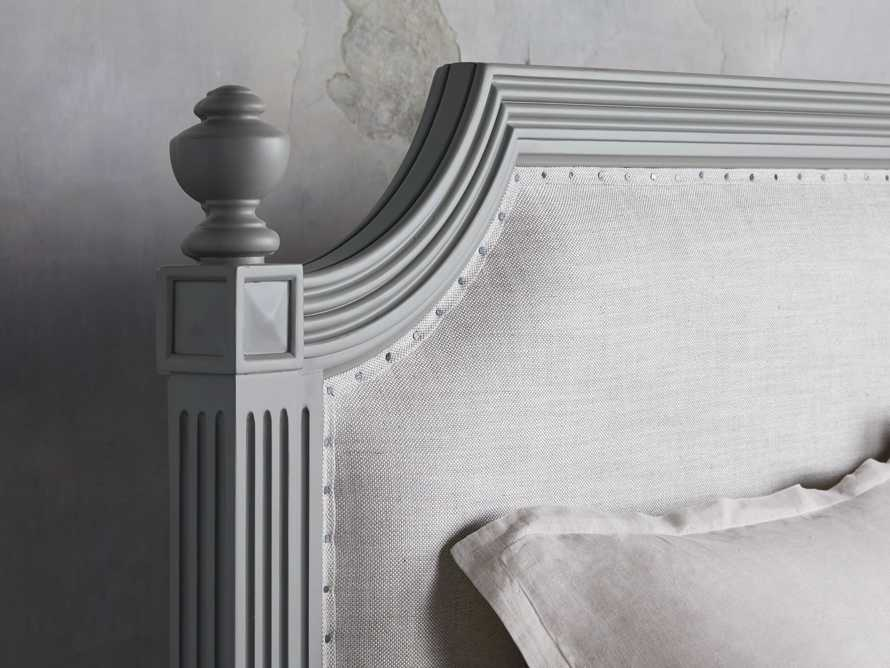 """Evelyn 63"""" Queen Bed in Stratus, slide 5 of 7"""