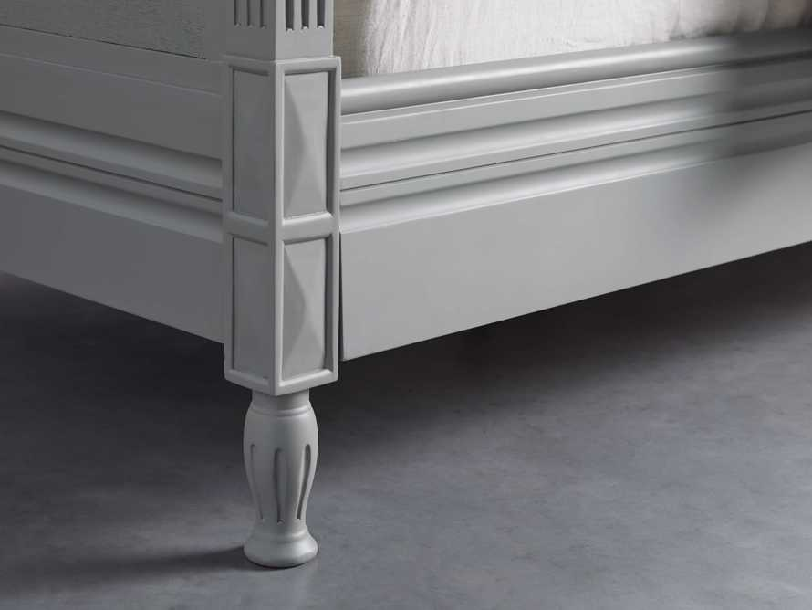 """Evelyn 63"""" Queen Bed in Stratus, slide 4 of 7"""
