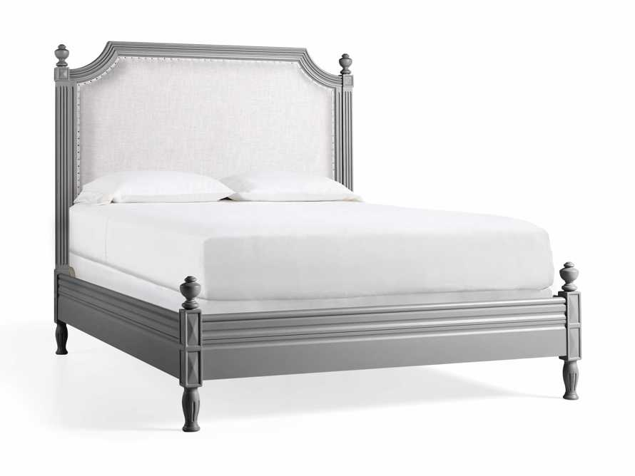 """Evelyn 63"""" Queen Bed in Stratus, slide 6 of 7"""
