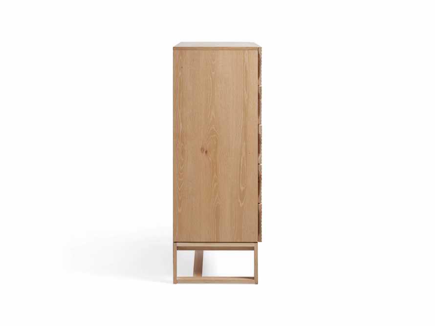 """Lawson 38"""" Tall Dresser in White Wash"""