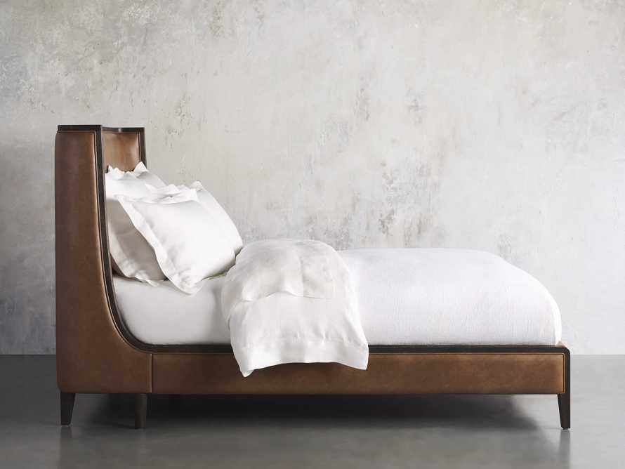 Lincoln Queen Bed in Copley Brown Shadow, slide 3 of 6