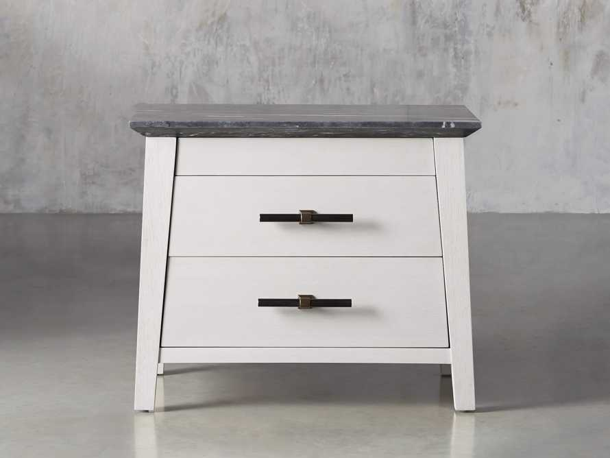 "Loren 35"" Two Drawer Nightstand, slide 1 of 11"