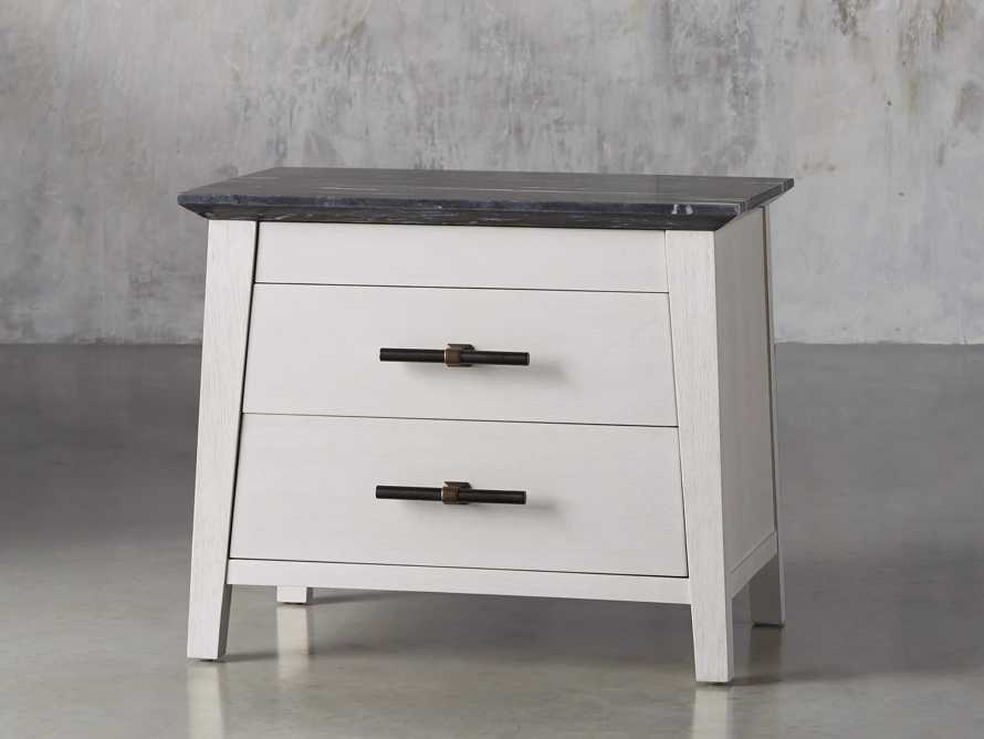 "Loren 35"" Two Drawer Nightstand, slide 2 of 11"