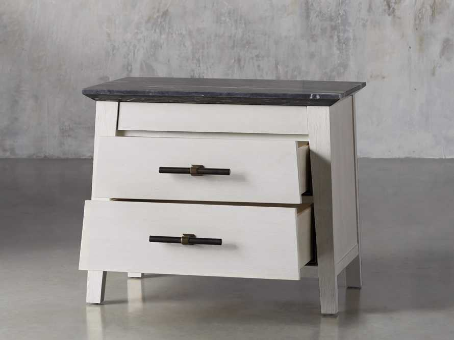 "Loren 35"" Two Drawer Nightstand, slide 3 of 11"