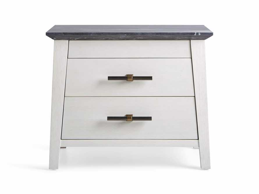 "Loren 35"" Two Drawer Nightstand, slide 8 of 11"