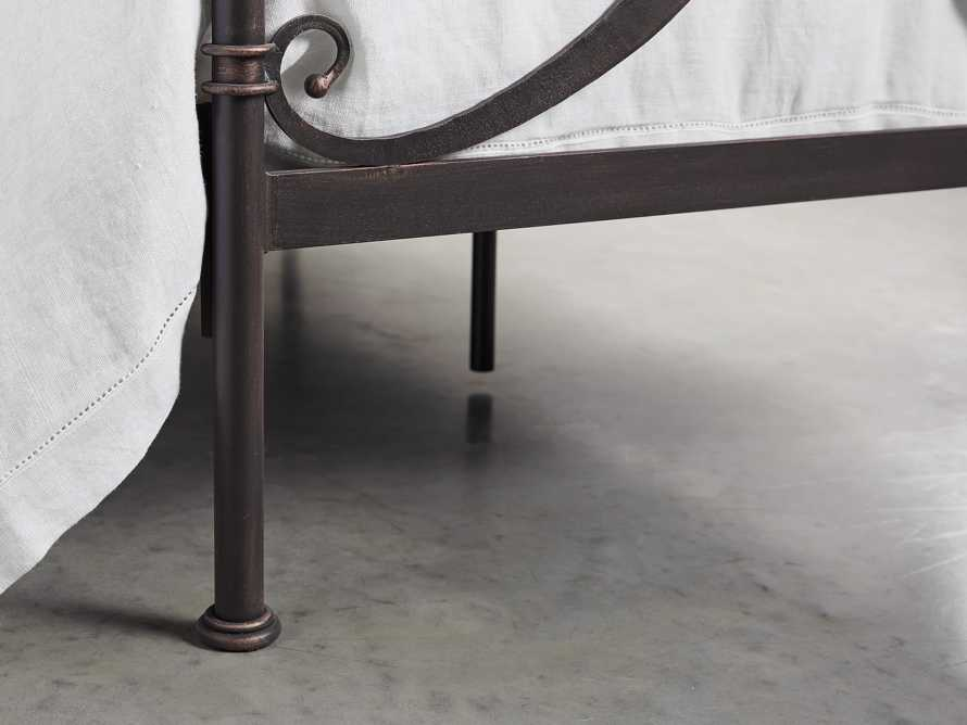 "St Lucia 63"" Twin Iron Bed In Rust, slide 5 of 7"