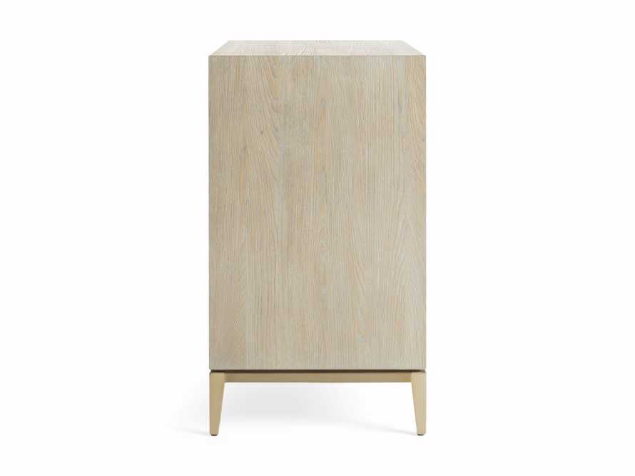 "Malone 36"" 3 Drawer Chest in Shagreen Bone, slide 9 of 9"