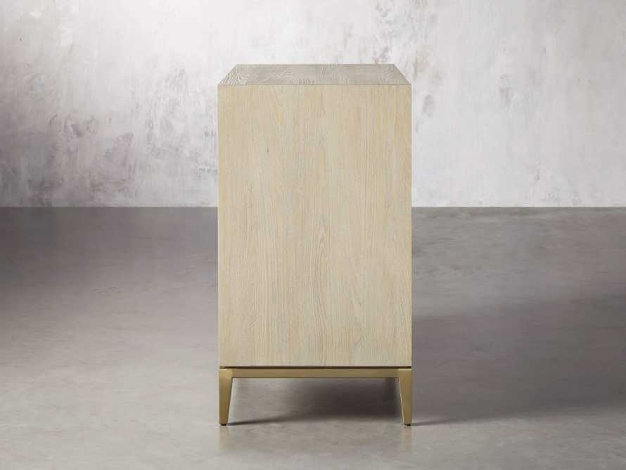 "Malone 36"" 3 Drawer Chest in Shagreen Bone, slide 4 of 9"