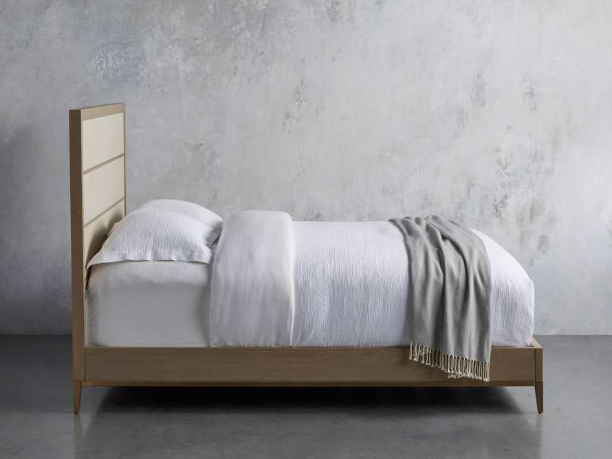 "Malone 54"" King Bed in Bone"