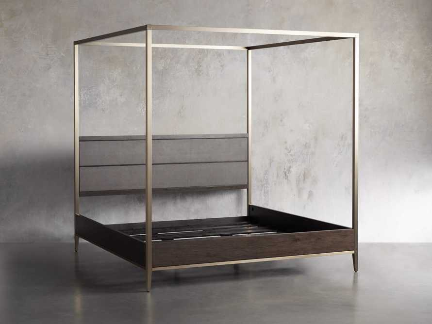 Malone Queen Canopy Bed in Sparrow, slide 5 of 6