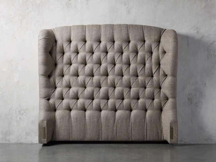 "Mariah Upholstered 64"" Tufted King Headboard"