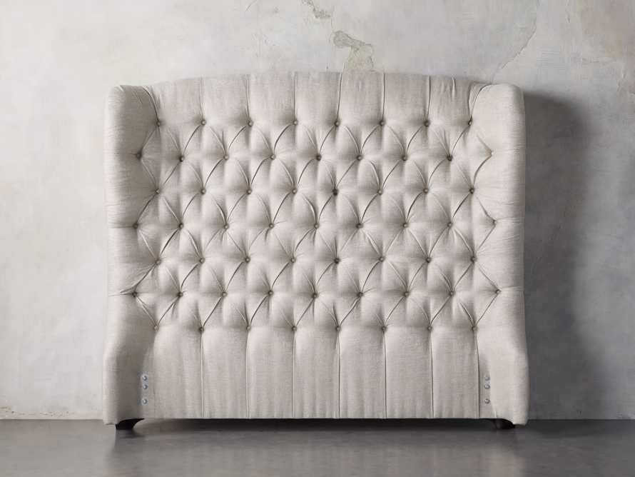"Mariah 64"" Upholstered Tufted Queen Headboard, slide 1 of 4"