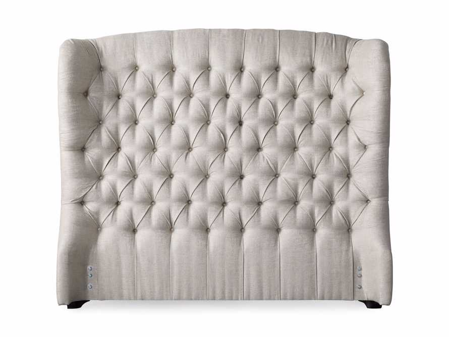 "Mariah 64"" Upholstered Tufted Queen Headboard, slide 4 of 4"
